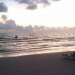 Sunset at Siesta Key July 2012