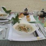 Vietnamese breakfast Chicken Pho