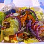 Garden Salad, yummy.