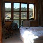 Zimmer mit Blick auf den Madlitzsee
