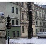 Ciemna Street in old Krakow-Kazimierz