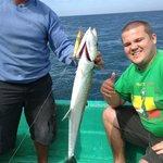 Macarela fish, during the fishing trip, every weekend to Las Penitas