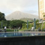 Mt. Meru view from pool area