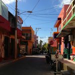 The streets in El Centro are so colorful!