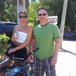 Rode our bikes to Playa del Carmen.