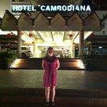 utanför hotellet
