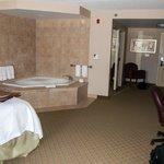Whirlpool tub room.