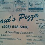 Paul's Pizza & Seafood Foto