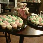 mini cupcakes, all butter, no fake stuff, no mixes!