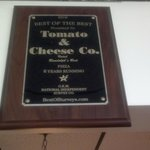 Award winning pizza for 8 years in a row!