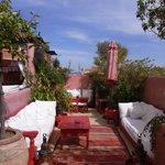 Gorgeous terrace for breakfast/tea