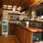 The kitchen of Rainforest Hideaway