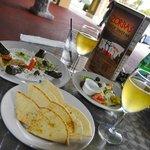 Zorba's Platter & Greek Salad