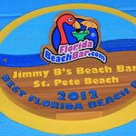 Jimmy B's Award for Best Beach Bar