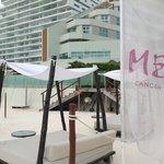 Bali beds at Beach Club