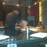 Teppanyaki Table at Silk
