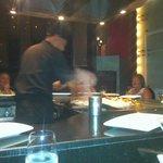 Teppanyaki Table at Silk
