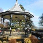 Grange over Sands bandstand