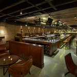 Basso is a sleek and exciting basement pub with an Italian accent and a playful attitude