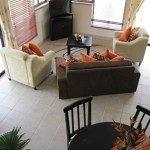 Living area on a Villa