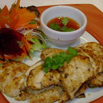 gai yang (grilled chicken)