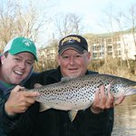 Bill Babler is one of our guides that would love to take you fishing!