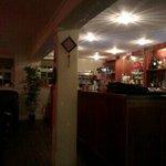 the bar at Kong's Chinese restaurant