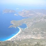 View whilst paragliding