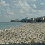 Hotel Khalef beach looking to Sousse