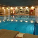 Swimming pool and gym