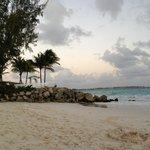 Beautiful little coral rock jetty