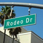 Just outside is Rodeo drive...