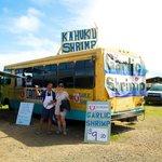 Kahuku Shrimp Truck Try the GARLIC shrimp yum yum