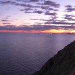 Sonnenuntergang mit Blick auf Alicante
