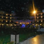 Night pic of the resort