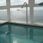 vista piscina hidromasaje