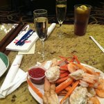 Crab legs and Champagne are What I Come For