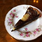 tasty pear and chocolate tart
