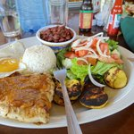 Typical Costa Rican dish - Casada