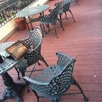 patio second floor Planters Inn