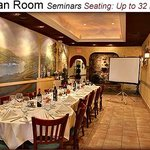Tuscan Room- screen can be requested!