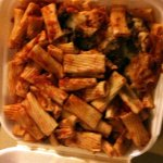 Small order of sausage rigatoni LEFTOVERS!