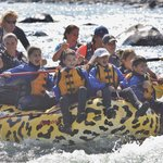 Happy Children with Wild West Rafting