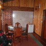 Living/Comedor del Hotel (bungalow)