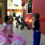 Princesse Alina & my son