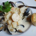 house seafood chowder - exceptional!