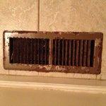 Rusty vents