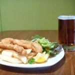 Classic kiwi meal with a handle of southern Speights ale