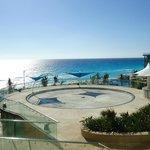 Vista de la playa desde nuestra habitación