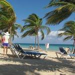 Perfect  Beach Plenty Of Shade & Chairs